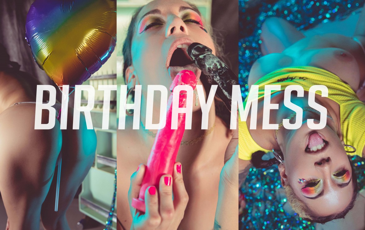Birthday mess 🎉🎈🍦